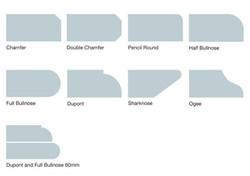 Quartz Edge Profiles