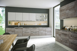 Driftwood Light Grey Supermatt Light Grey Kitchen