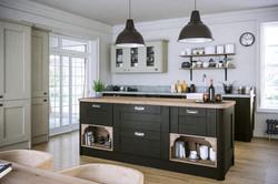 Wilton Oakgrain Graphite Oakgrain Grey Kitchen