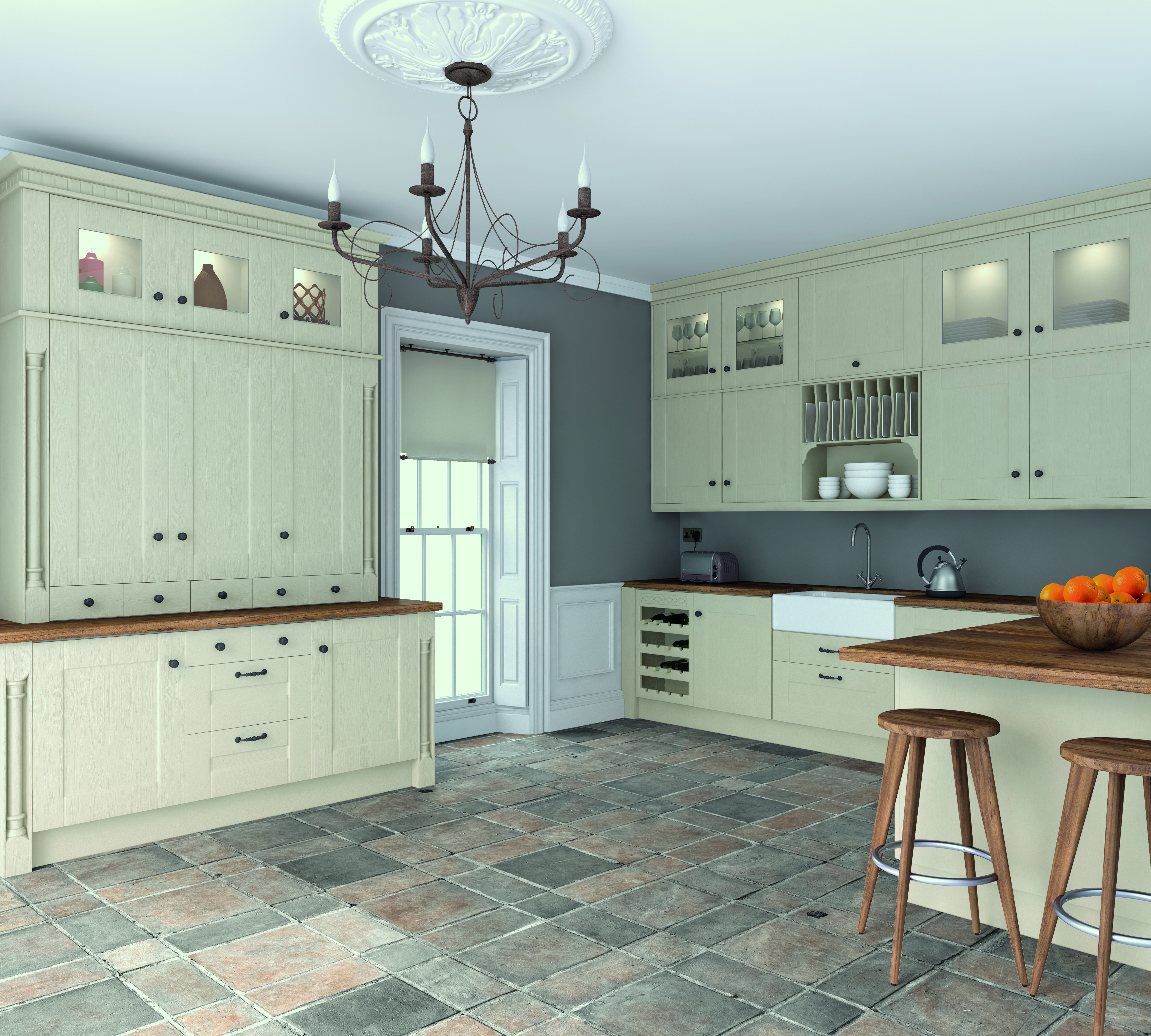 Bella by BA Oakgrain Mussel Warwick Kitchen