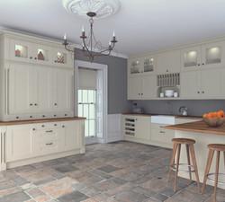 Bella by BA Oakgrain Mussel Warwick Kitchen