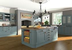 Paintable Shaker Kitchen 3