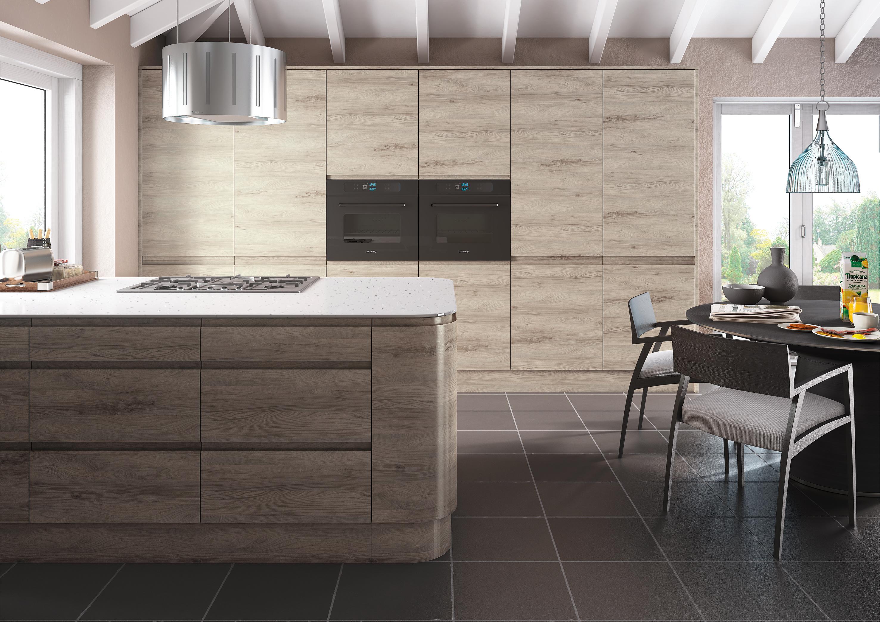 Malton Stone Elm Kitchen
