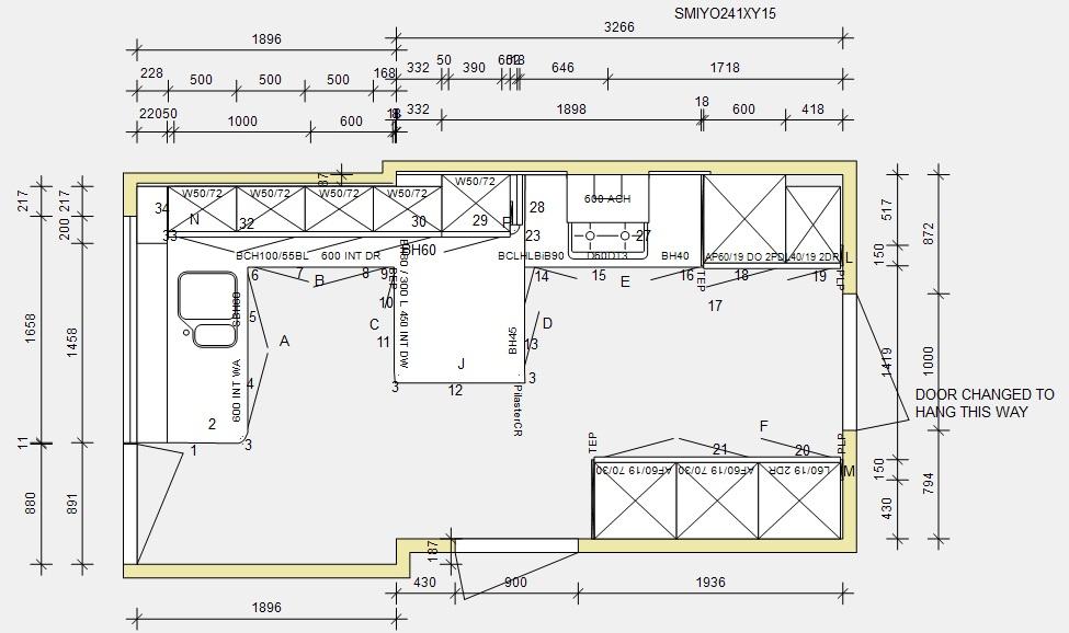 Smith line plan