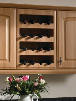 Plain Wine Rack 16 btl