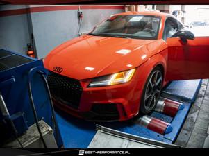 Audi TTRS na podzespołach od APR