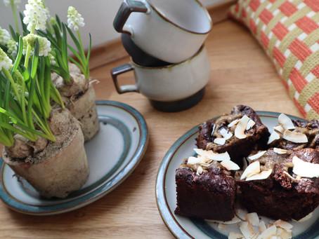 Sundere kage valg; Tahin og Sødkartoffel Brownies