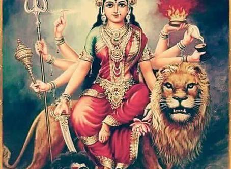 Durga - Gudinden styrke, retfærdighed og mod.