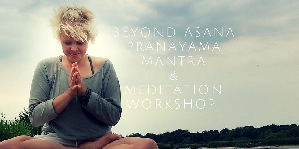 Beyond Asana - Pranayama, mantra og meditations workshop (1)