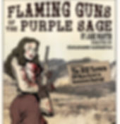 Poster for Flaming Guns of the Purple Sage
