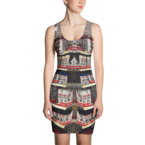 Abstract Rack Up Dress