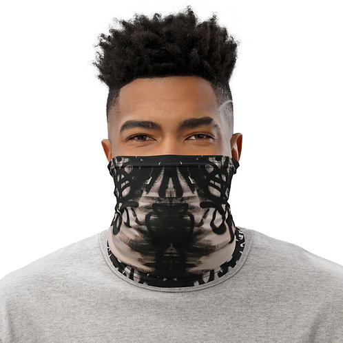 Flat Black Face Mask