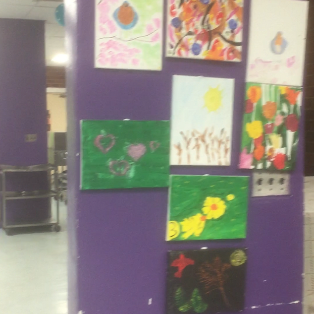 Gallery of Painting made through the spring.