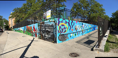 Mosholu Murals Lady K-Fever Part 2 & 3.JPG
