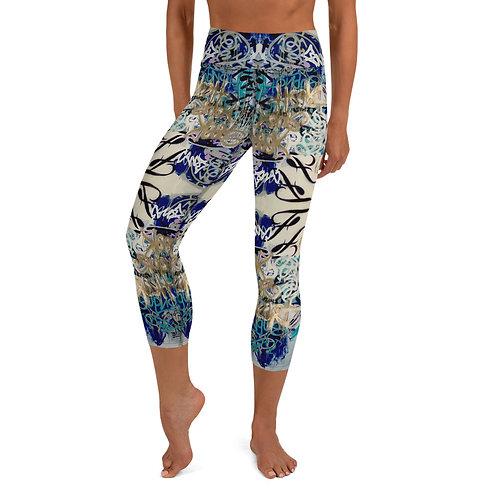 Speak Your Truth Yoga Capri Leggings