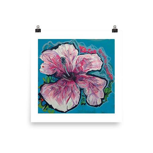 Wynwood Miami Hibiscus Print 01