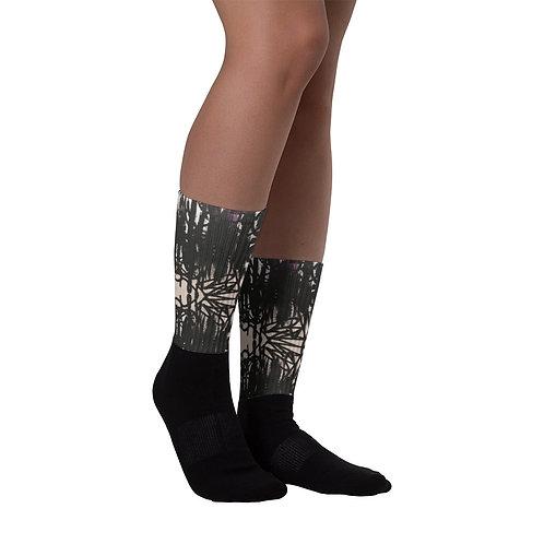 FLAT Black Socks 01