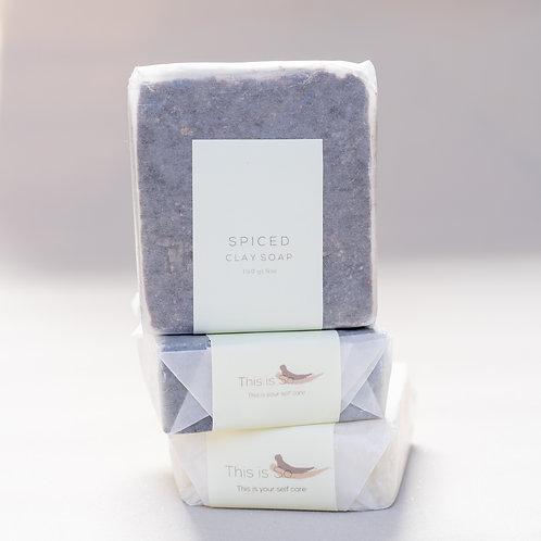 Spiced Clay Soap