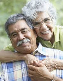 Image of an older Hispanic couple