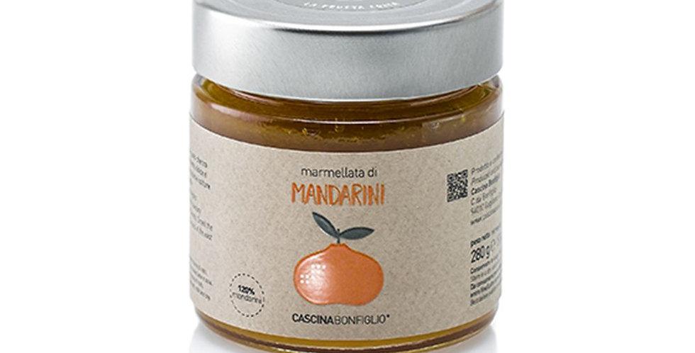 Mandarinková marmeláda z odrody Simeto a Marzaiolo ciaculli