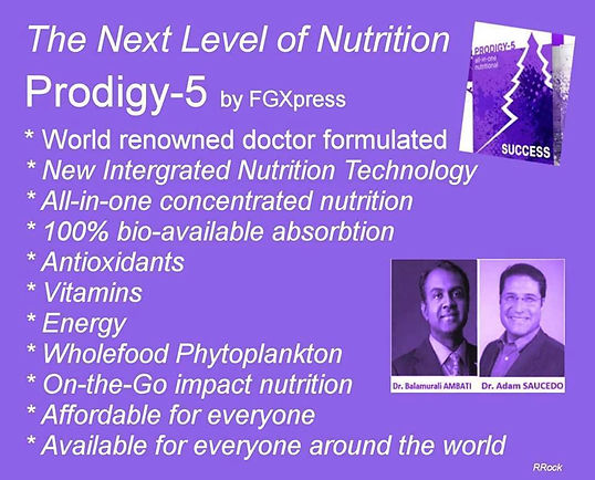 LivingFreeOfStress introduces Trans Armor Technology- All-In-One Nutritional from FGXpress