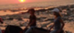 Sunset ride in Costa Rica