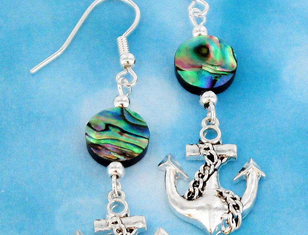 Mystic Anchor Earings
