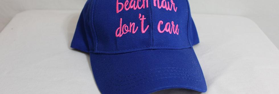 Beach Hair Dont Care Hat