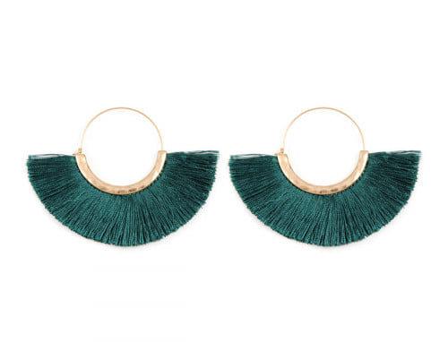 Fan Ring Earrings Nautical Collection