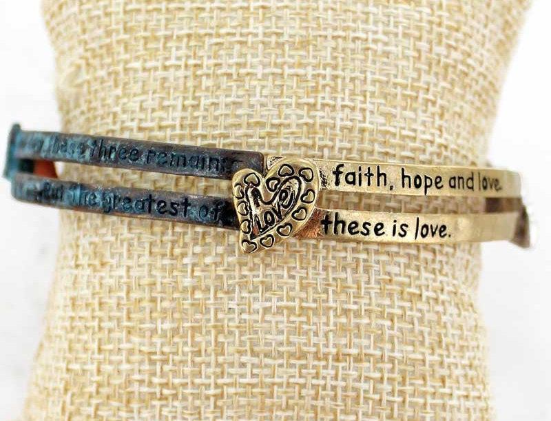 Faith&Love Bracelet