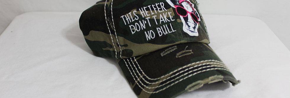 Take no Bull Hat Camo