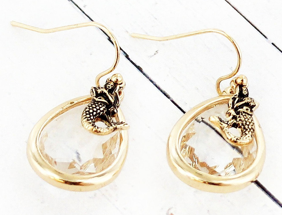 Mermaid Jewel Earrings
