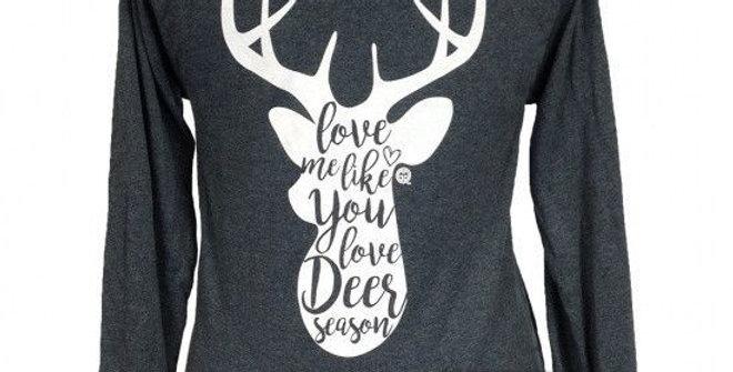Deer Season Love Long-sleeve