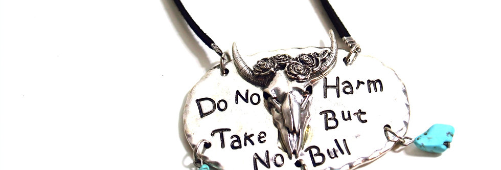 Take No Bull Necklace
