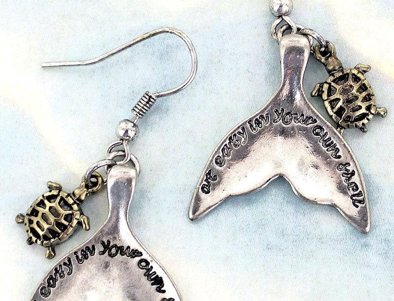 Tale of the Whale Earrings