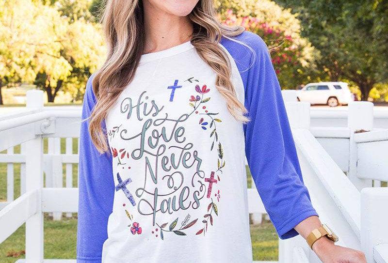 Love Never Fails Top
