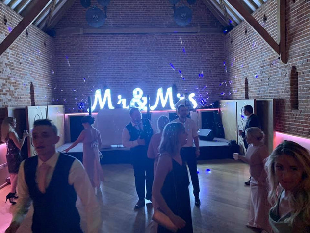Mr and Mrs Letter Hire