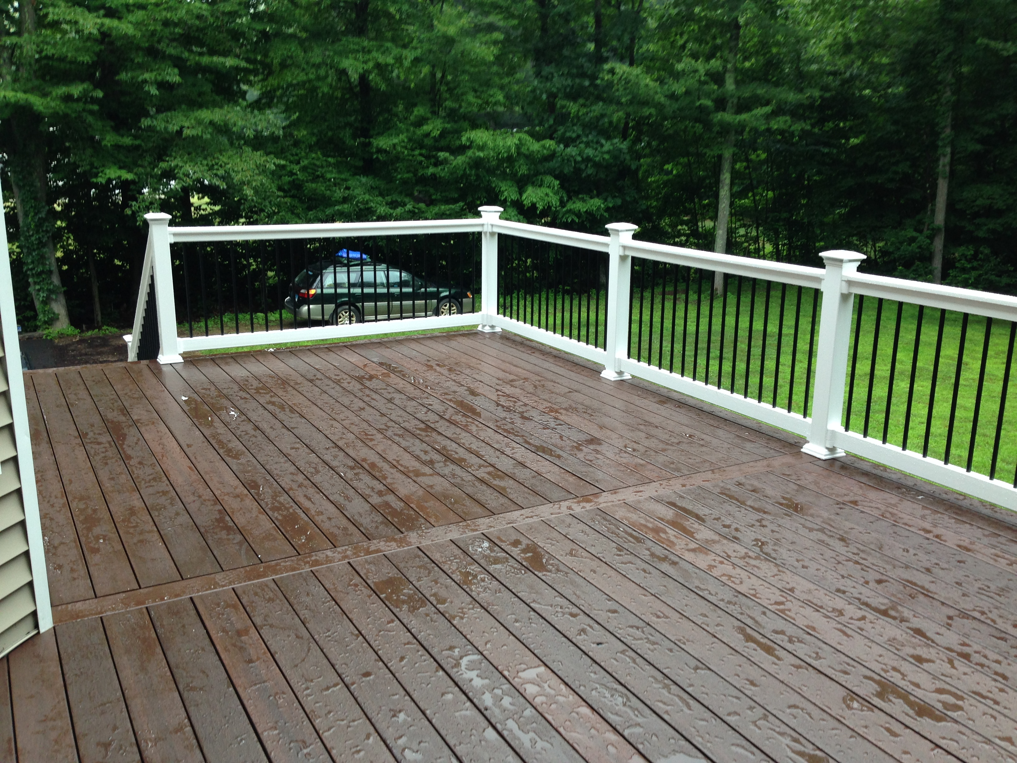 Deck after treatment