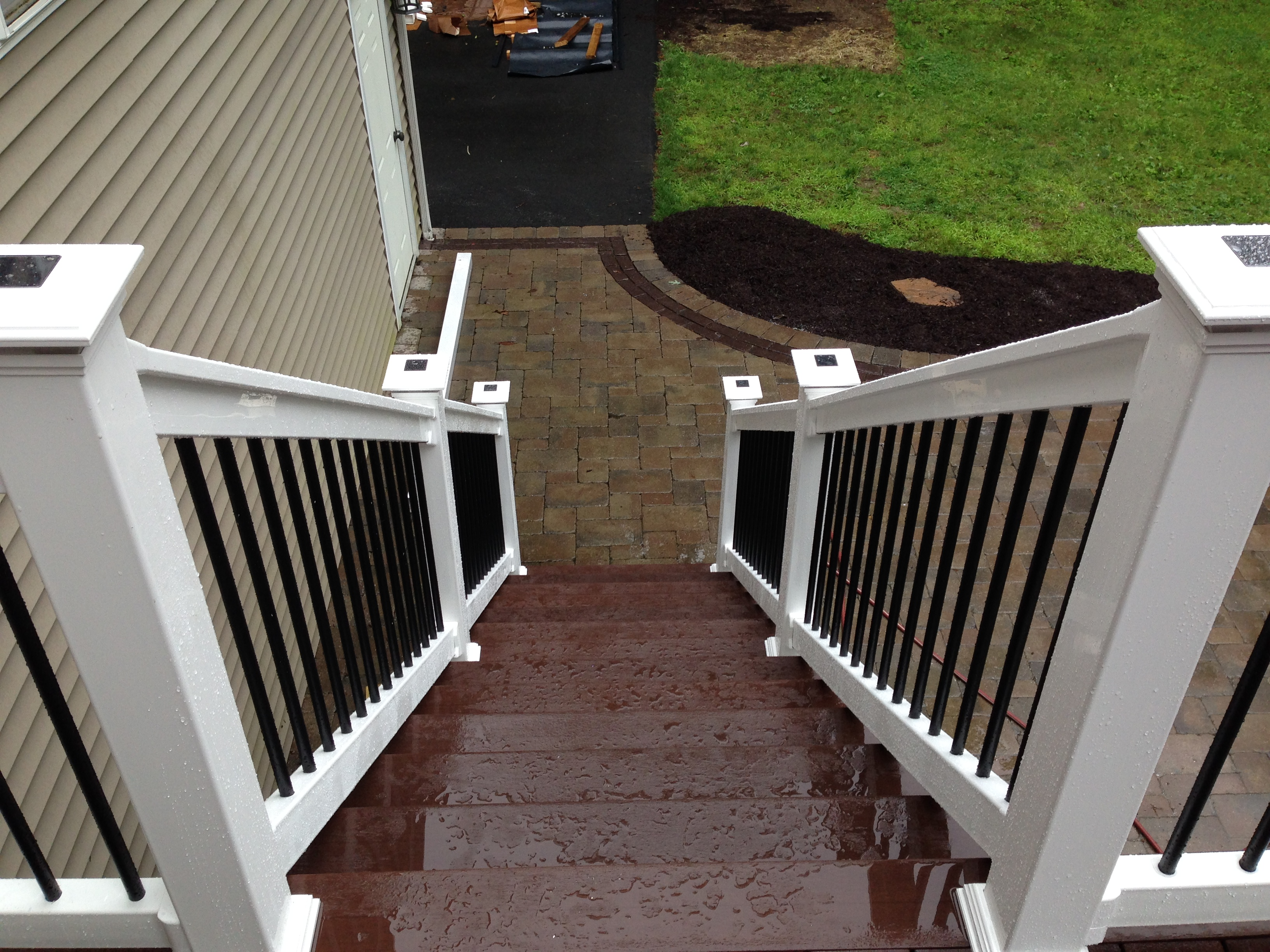 Stairs upto deck