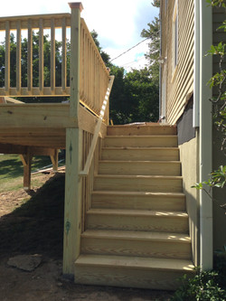 Stairs in progress