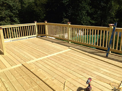 Decking almost complete