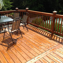Treated Finished Deck