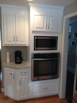 Cooker installed