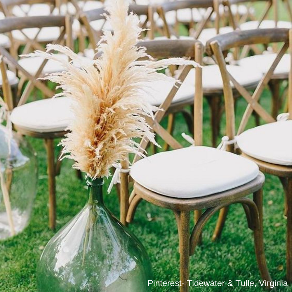 Pampas grass inspiration- bridal show in SCV