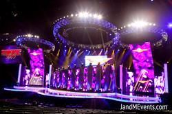LED Stage Set Design