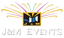 J&M Events Logo NEW- transparent white t