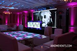 LED Screen & DJ Facade & LED Dance floor