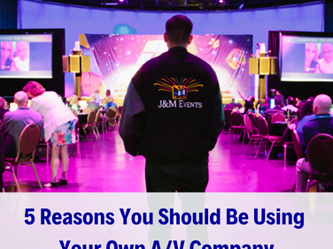 5 reasons NOT to use the in-house A/V