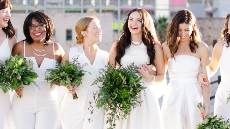 4 Non-Traditional Bridesmaids Dress Ideas You'll Love