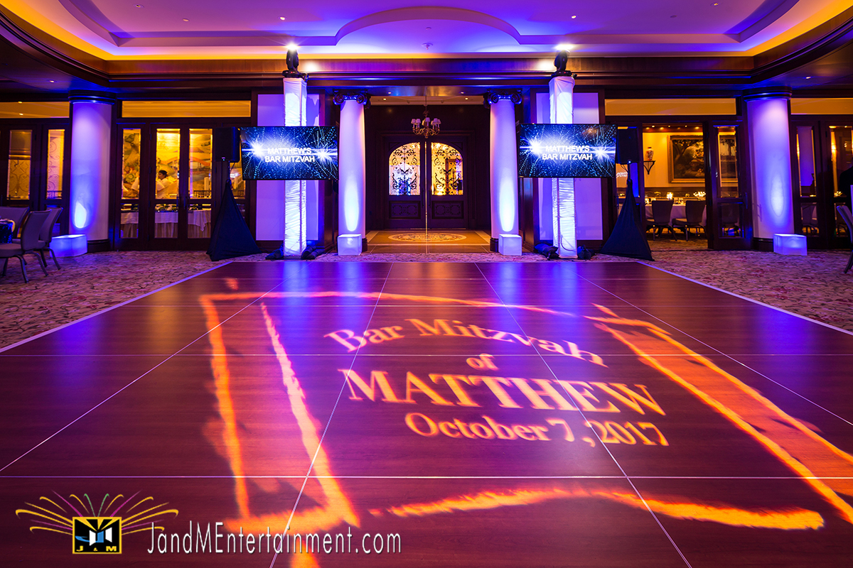 Mitzvah Event Lighting & Decor